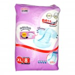 Best Care Adult Diaper Extra Soft Comfort & Dry XL 8's