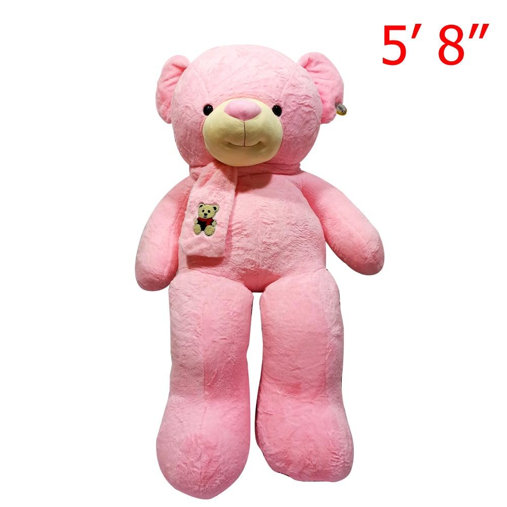"Bear Character Doll With Bear Muffler 5' 8"""