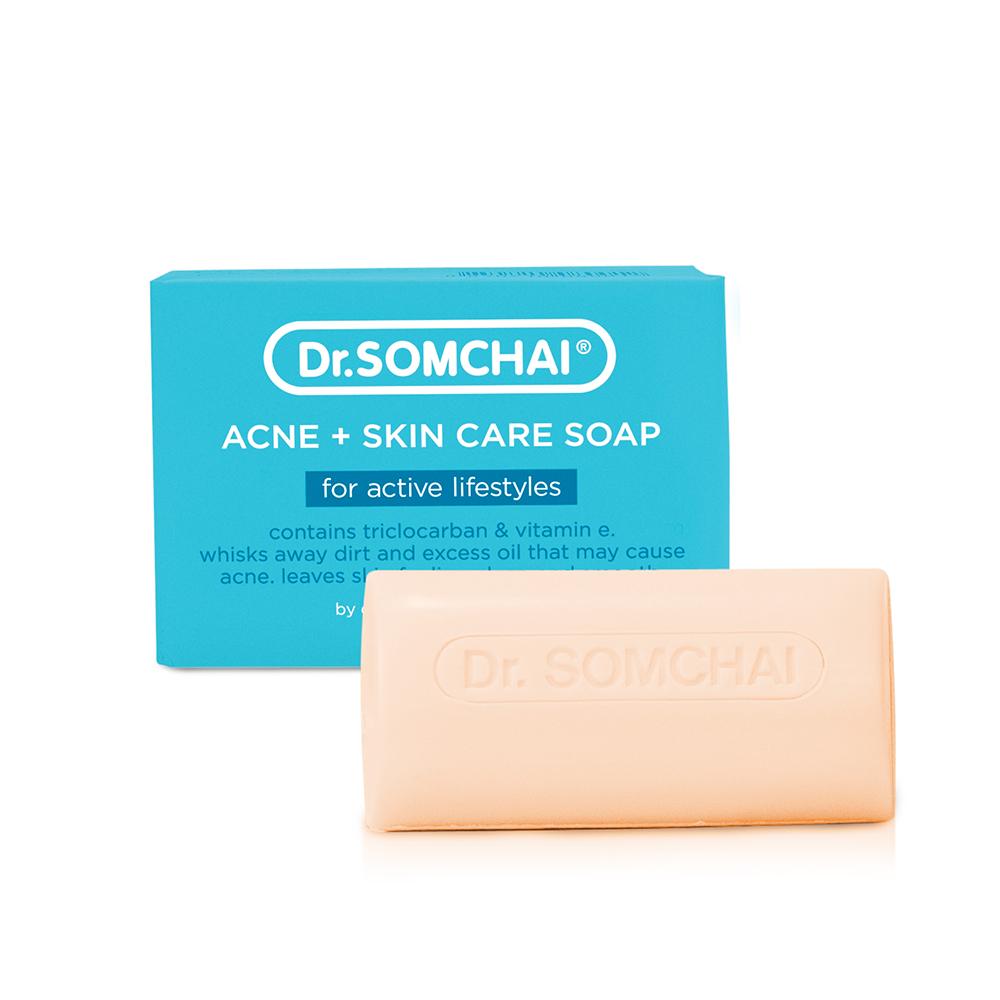 Dr.Somchai Acne+Skin Care Soap Active  80g