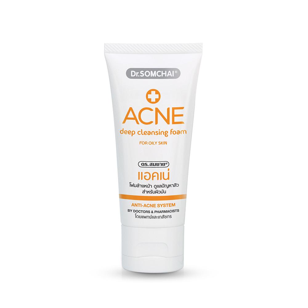 Dr.Somchai Acne Deep Cleansing Foam Oily Skin 50g
