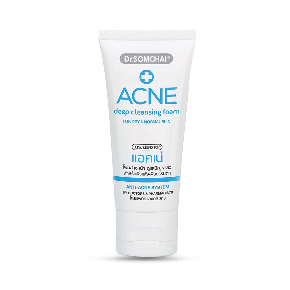 Dr.Somchai Acne Deep Cleansing Foam Normal Skin 50g