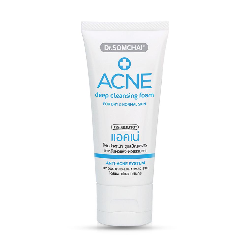 Dr.Somchai Acne Deep Cleansing Foam Normal Skin 110g