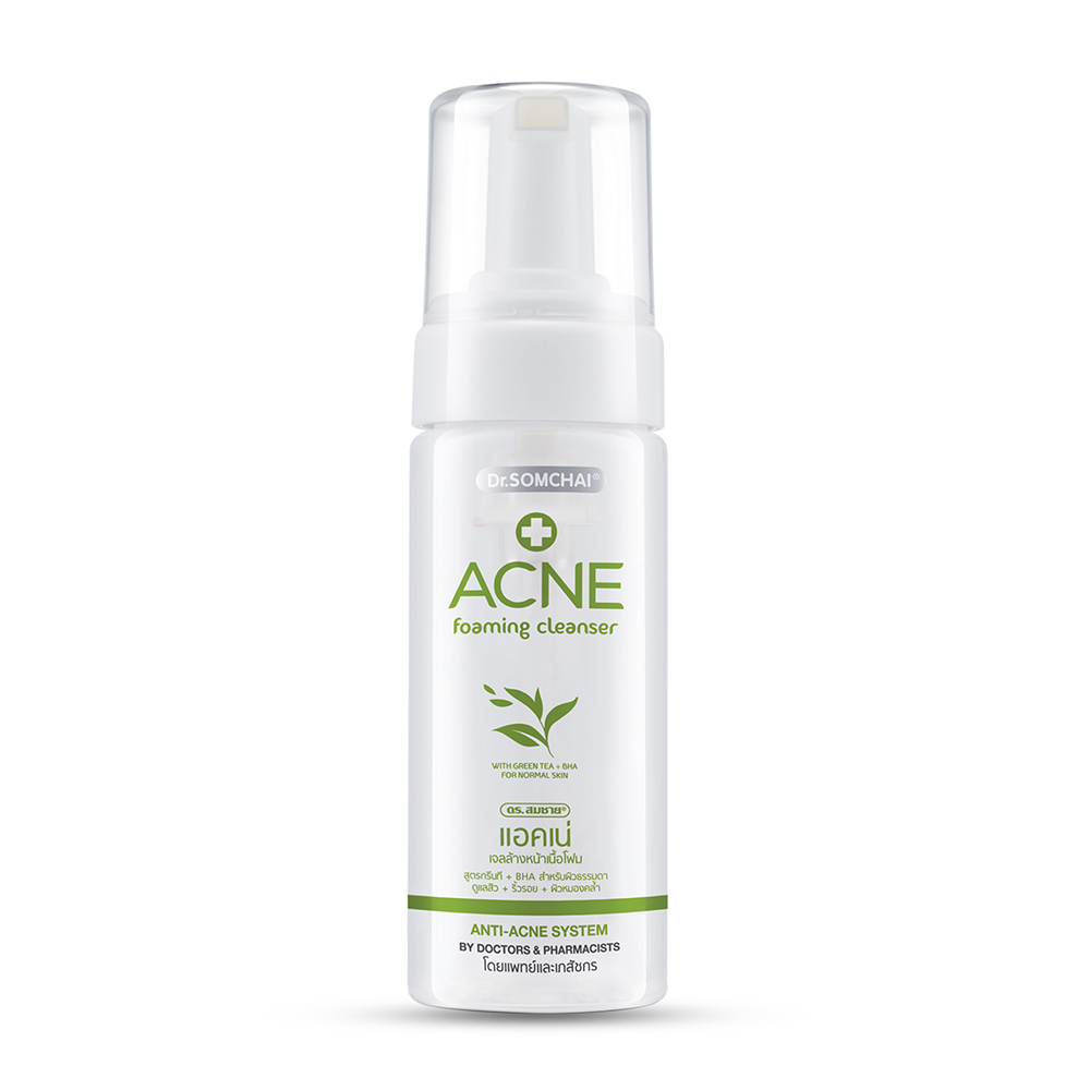 Dr.Somchai Acne Foaming Facial Cleanser Normal Skin 150ml