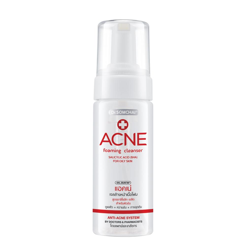 Dr.Somchai Acne Foaming Facial Cleanser Oily Skin 150ml