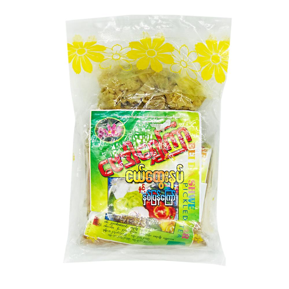 Baydar Shwe Kyar Pickled Ginger & Fried Beans