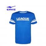 Erke Men Crew Neck T Shirt S/S No-11217219502-603 Blue Size-2XL