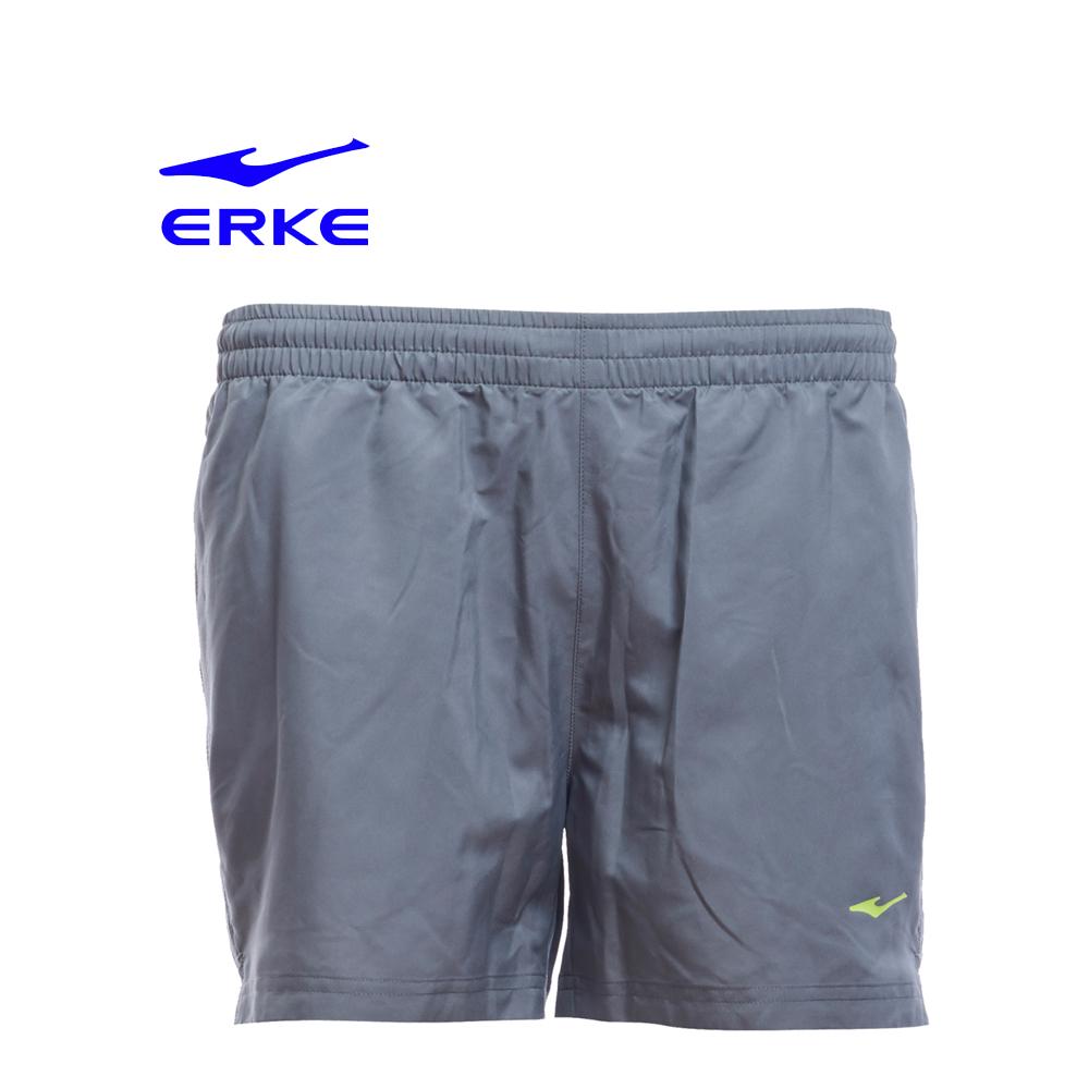 Erke Women Sports Short Pants No-12217254431-121 Charcoal Size-XS
