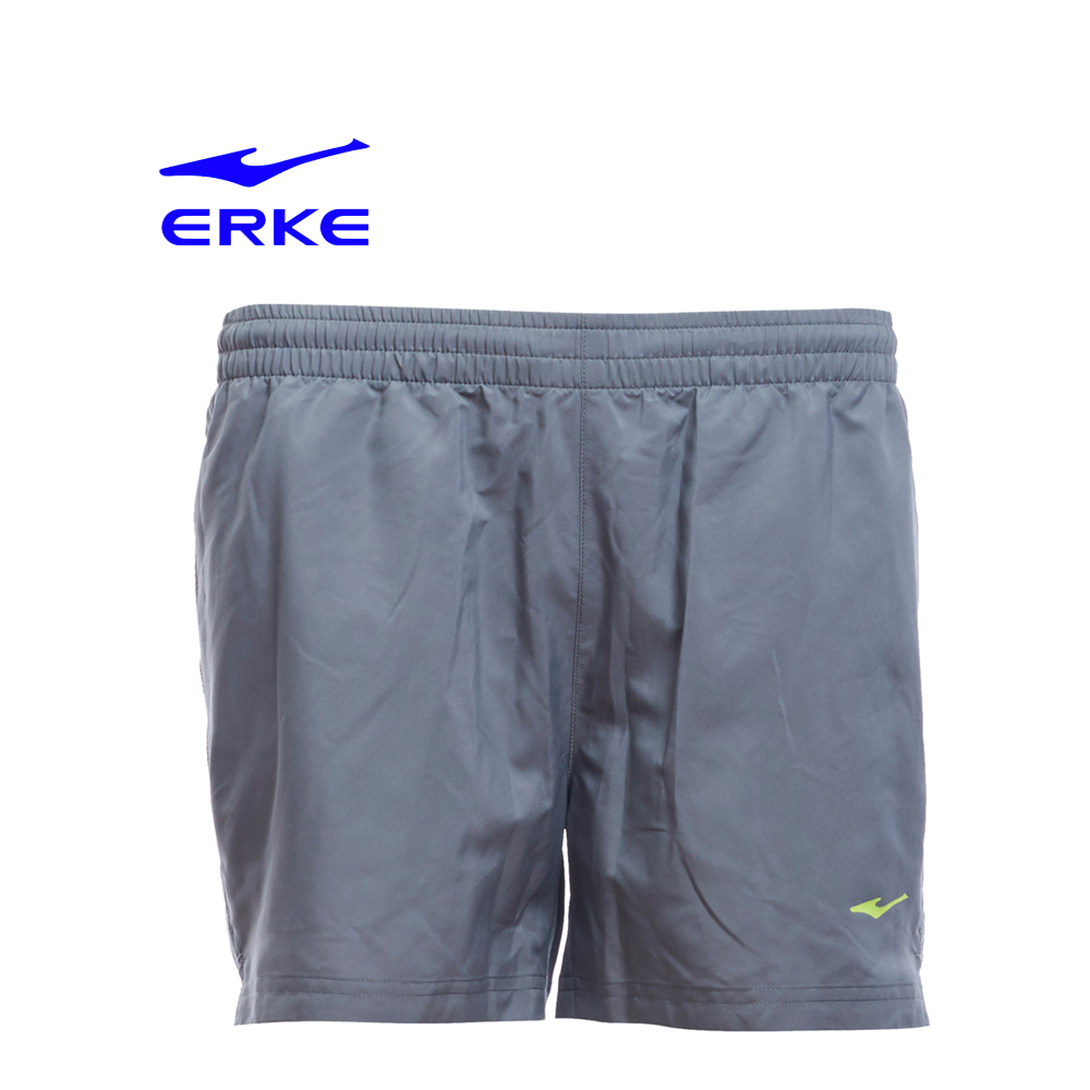 Erke Women Sports Short Pants No-12217254431-121 Charcoal Size-S