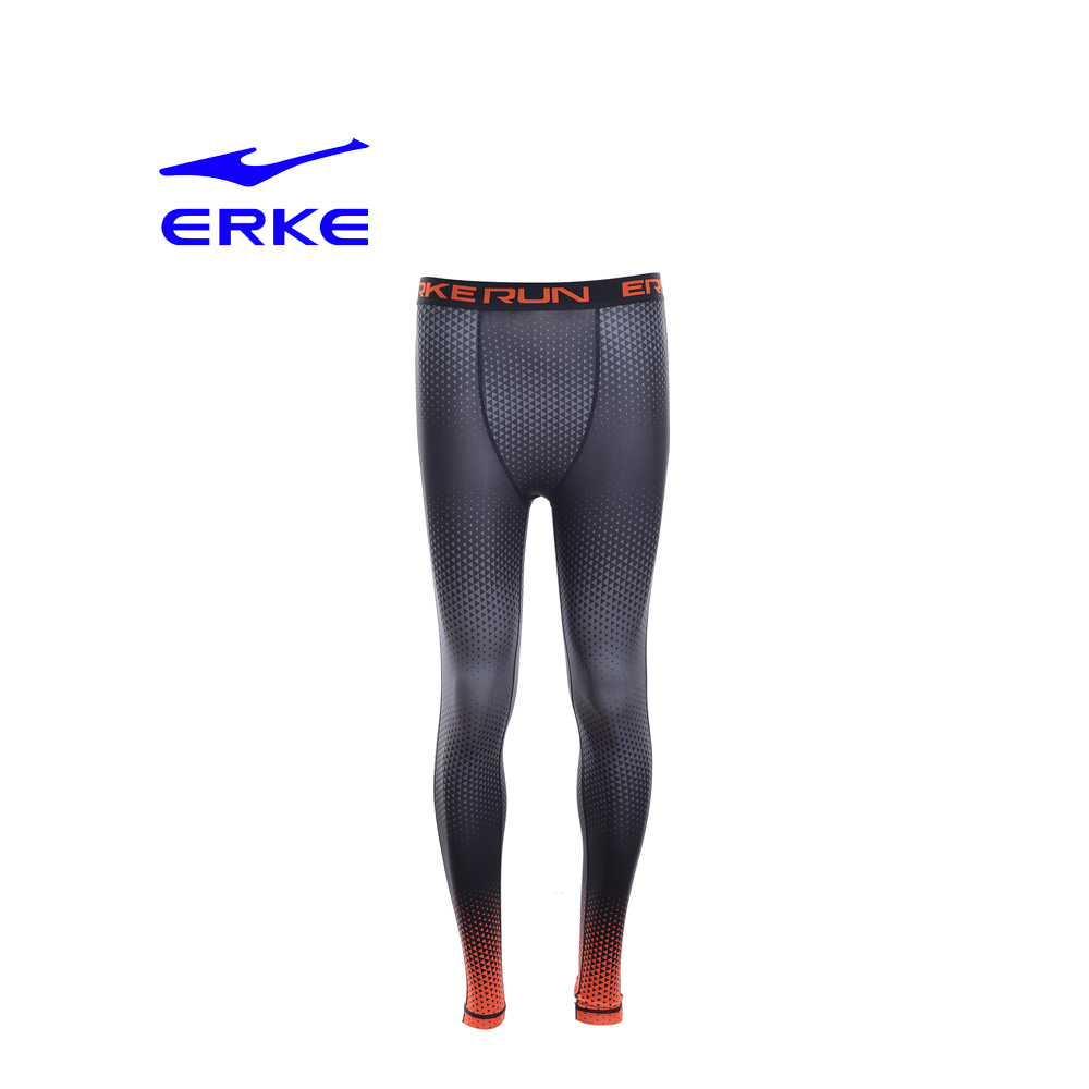 Erke Men Knitted Pants No-11217157191-121 Charcoal Size-2XS