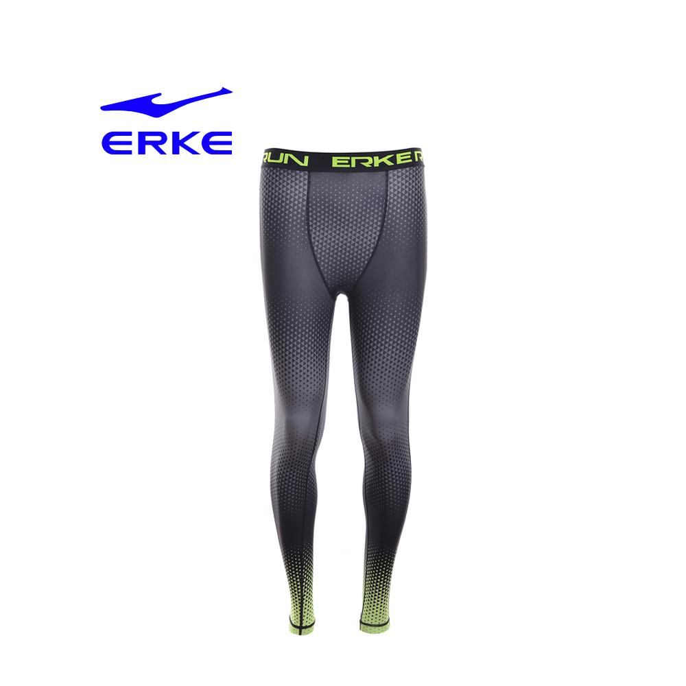 Erke Men Knitted Pants No-11217157191-401 Acid Yellow Size-2XS