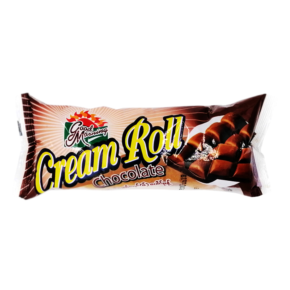 Good Morning Cream Roll Chocolate 60g