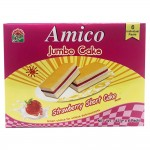 Good Morning Amico Jumbo Cake Strawberry Short Cake 6's 252g