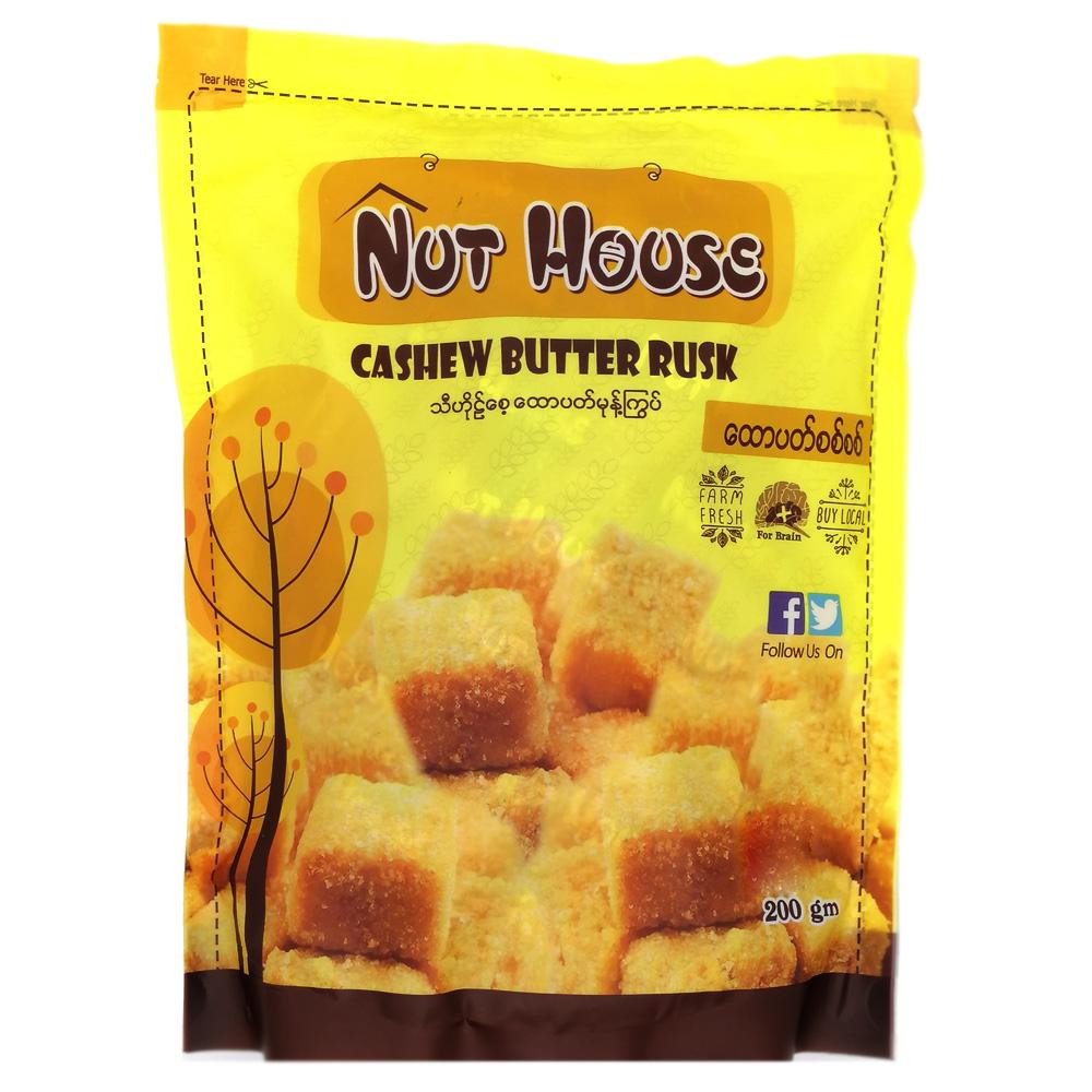 Nut House Cashew Butter Rusk 200g