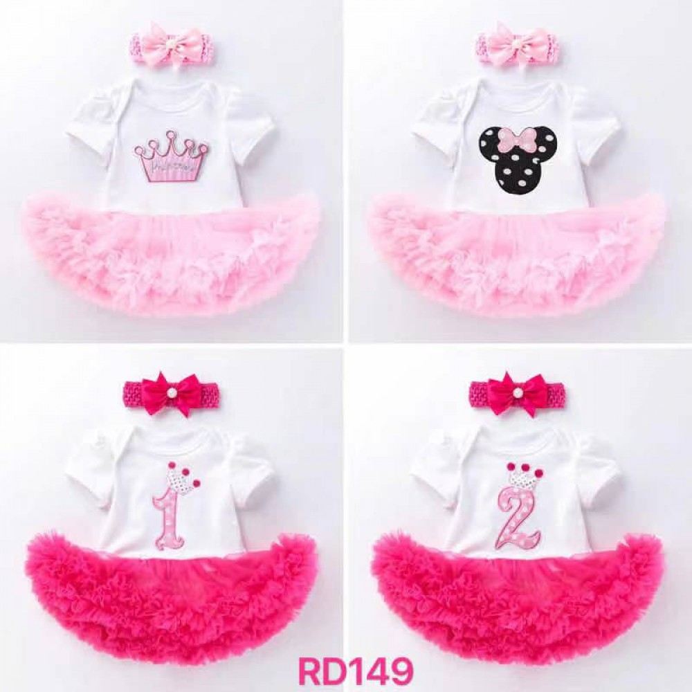 Baby Girl Dress SET RD 149