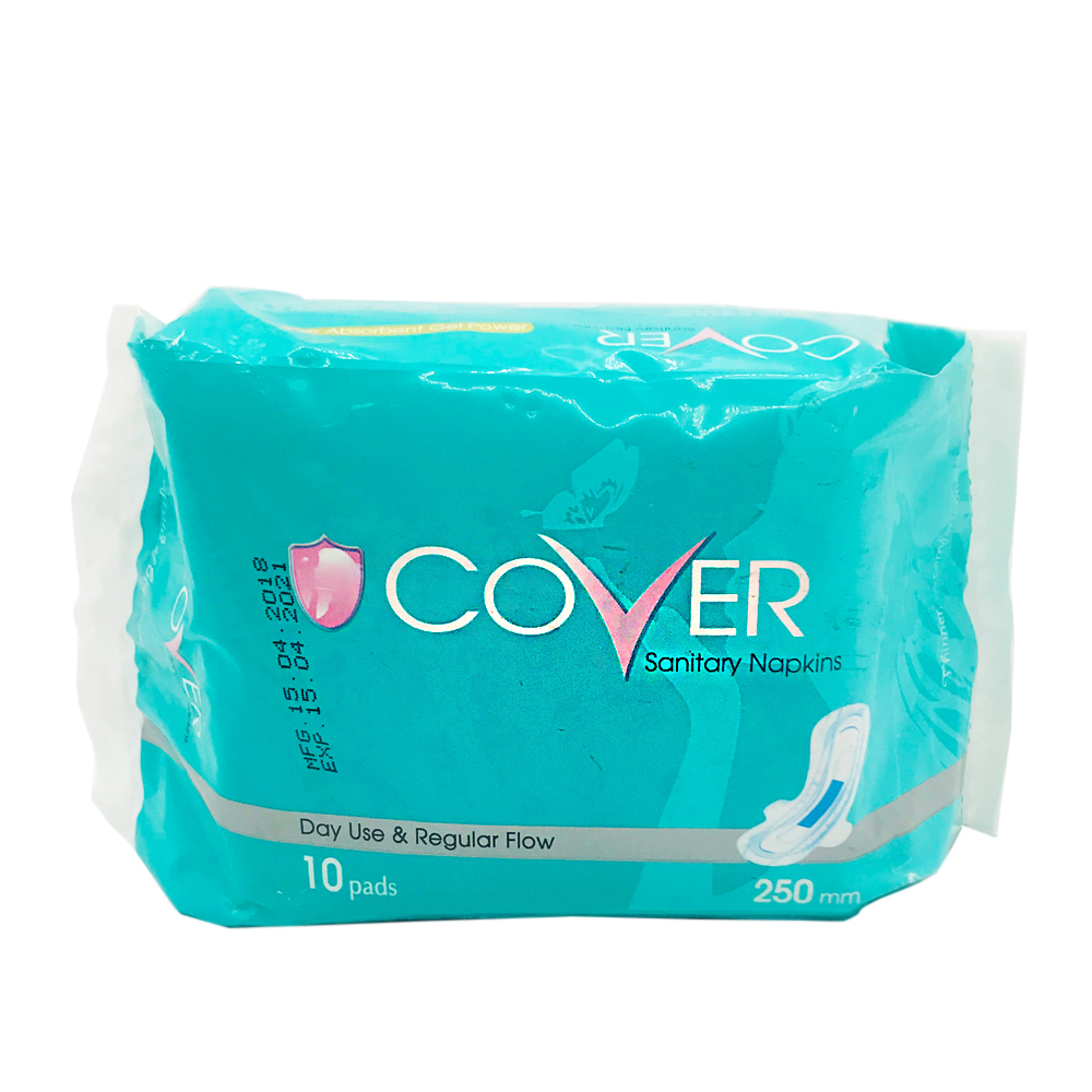 Cover Sanitary Napkin Regular Flow Wing Day 10's (Green)