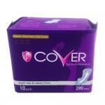 Cover Sanitary Napkin Heavy Flow Wing Night 10's