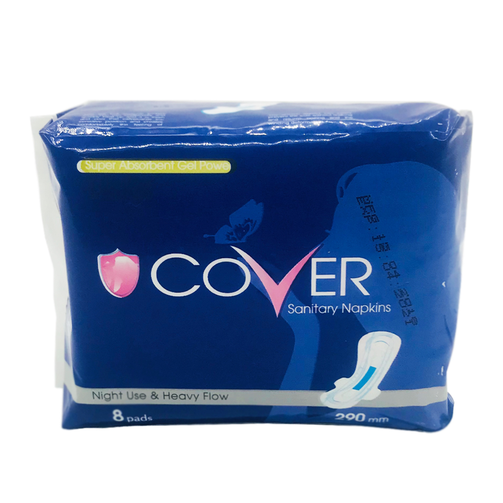 Cover Sanitary Napkin Heavy Flow Wing Night 8's