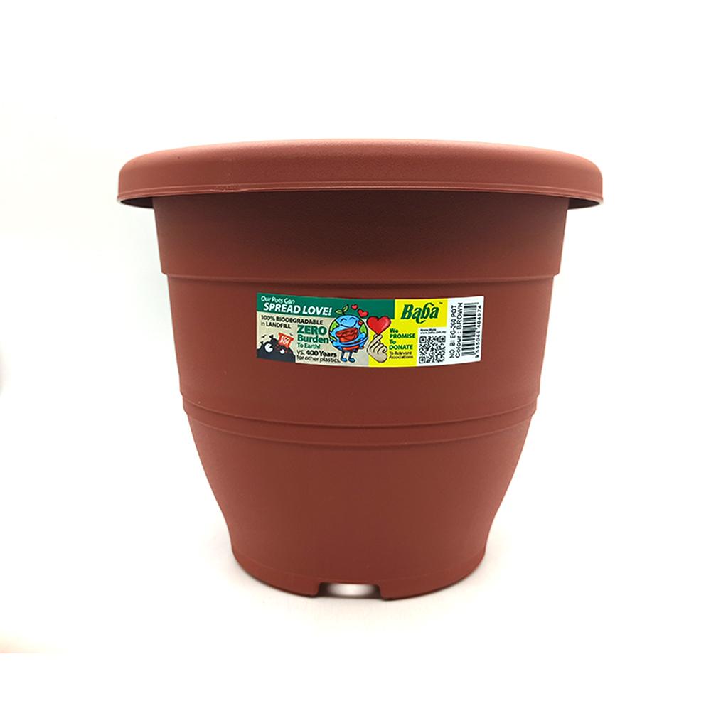 Ba Ba Flower Pot BI EG-260 Brown