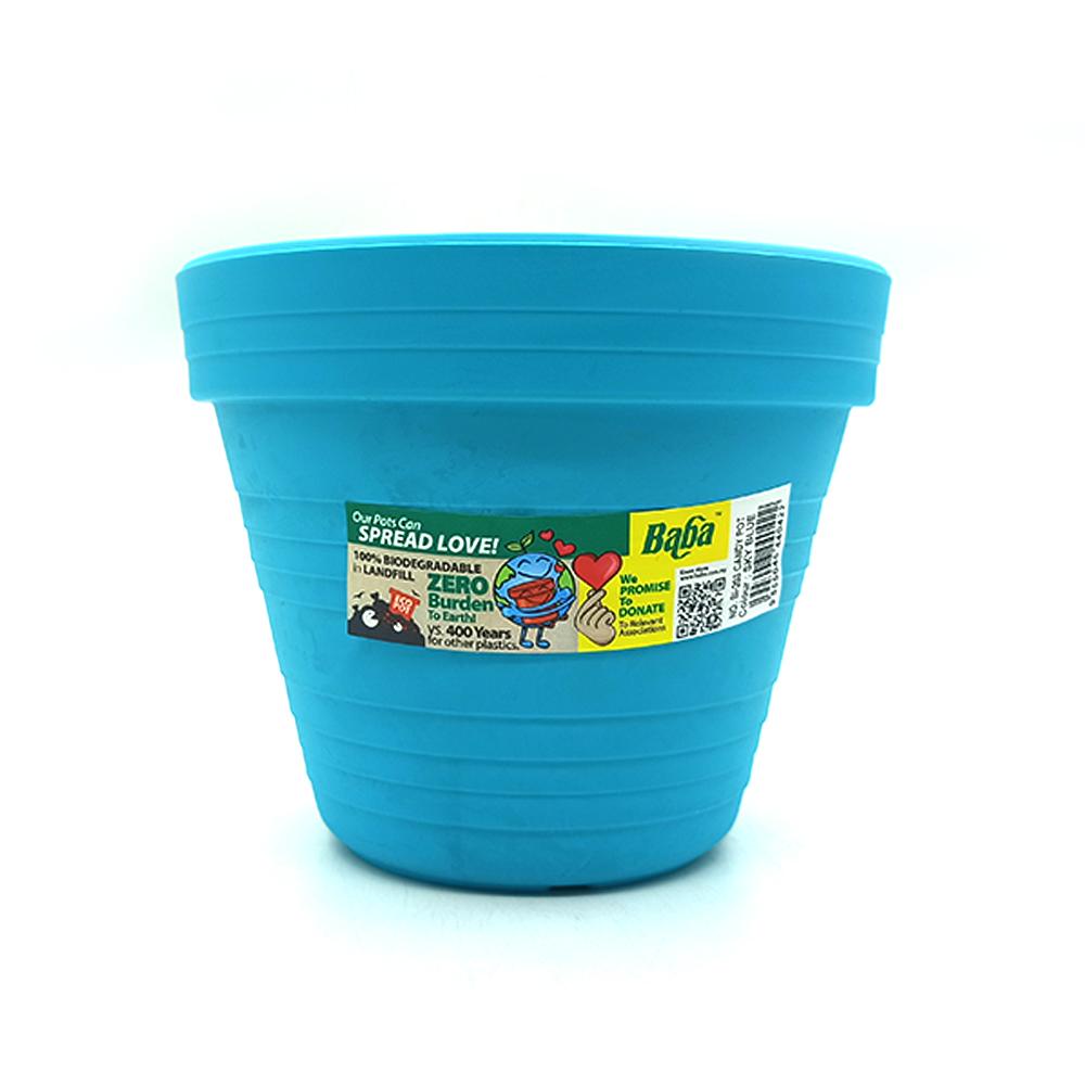Ba Ba Flower Candy Pot BI-203 Sky Blue