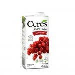 Ceres 100% Juice Red Grape 1ltr
