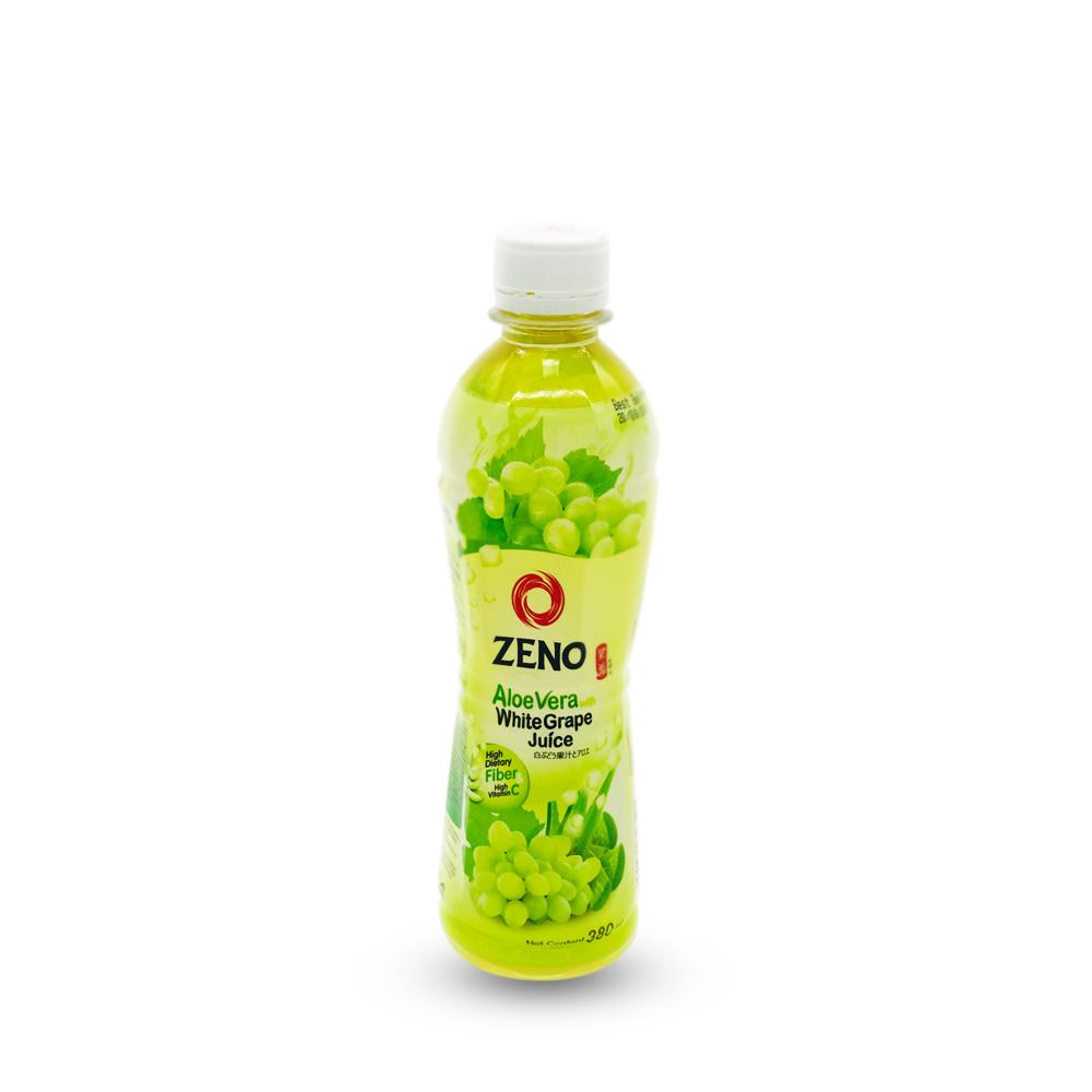 Zeno Aloe Vera White Grape Juice 380ml