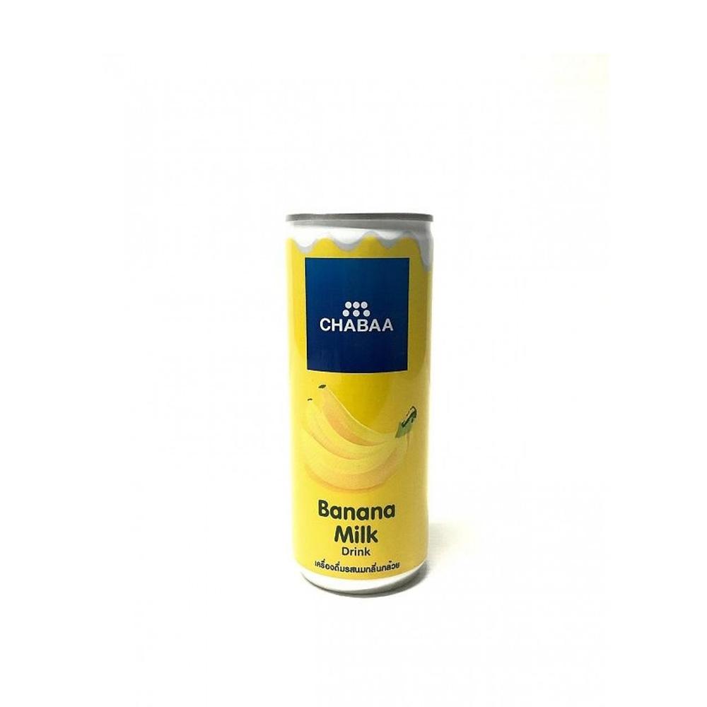 Chabaa Banana Milk Drink 230ml