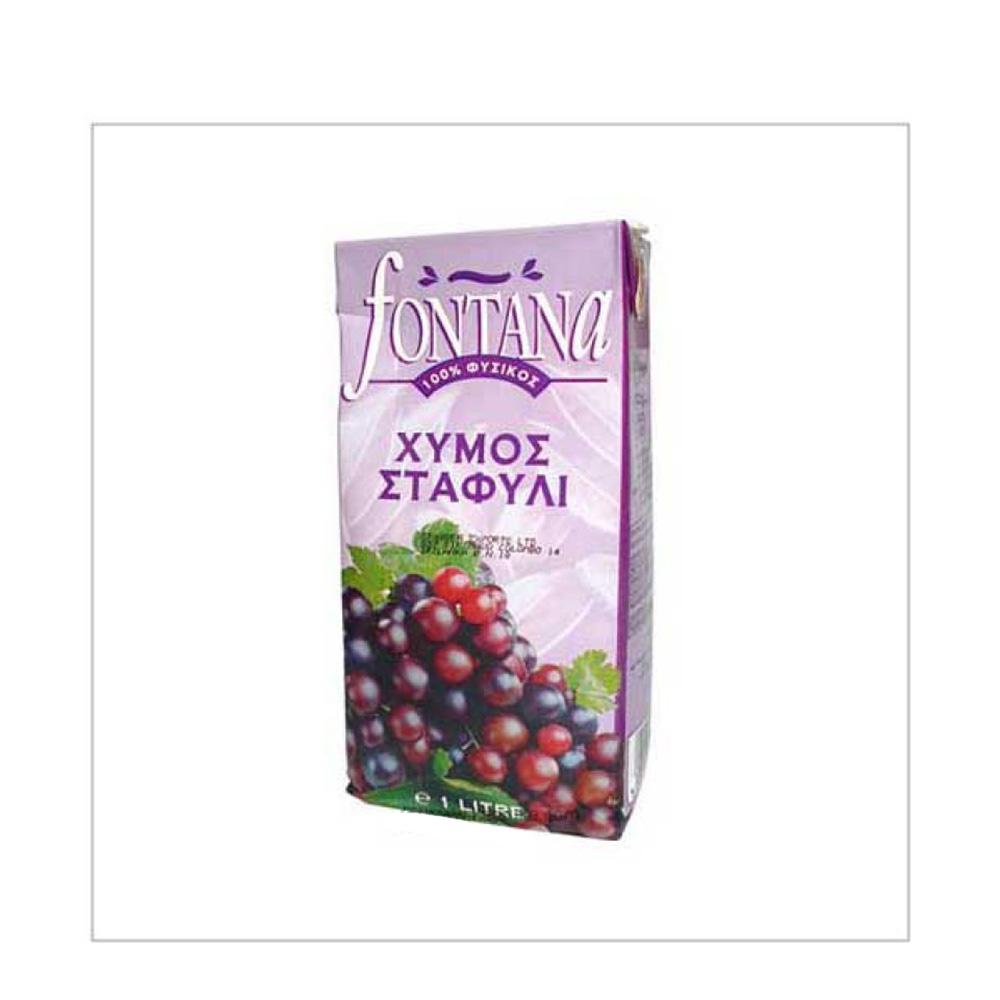 Fontana 100% Grape Juice 1ltr
