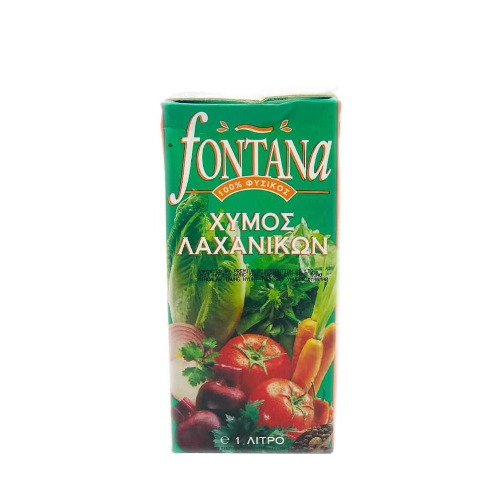 Fontana 100% Mixed Vegetable Juice 1ltr