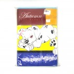 "Autumn Bed Sheets Single Set 3's Size-3.5""x6.5""x9"" (Fitted)"