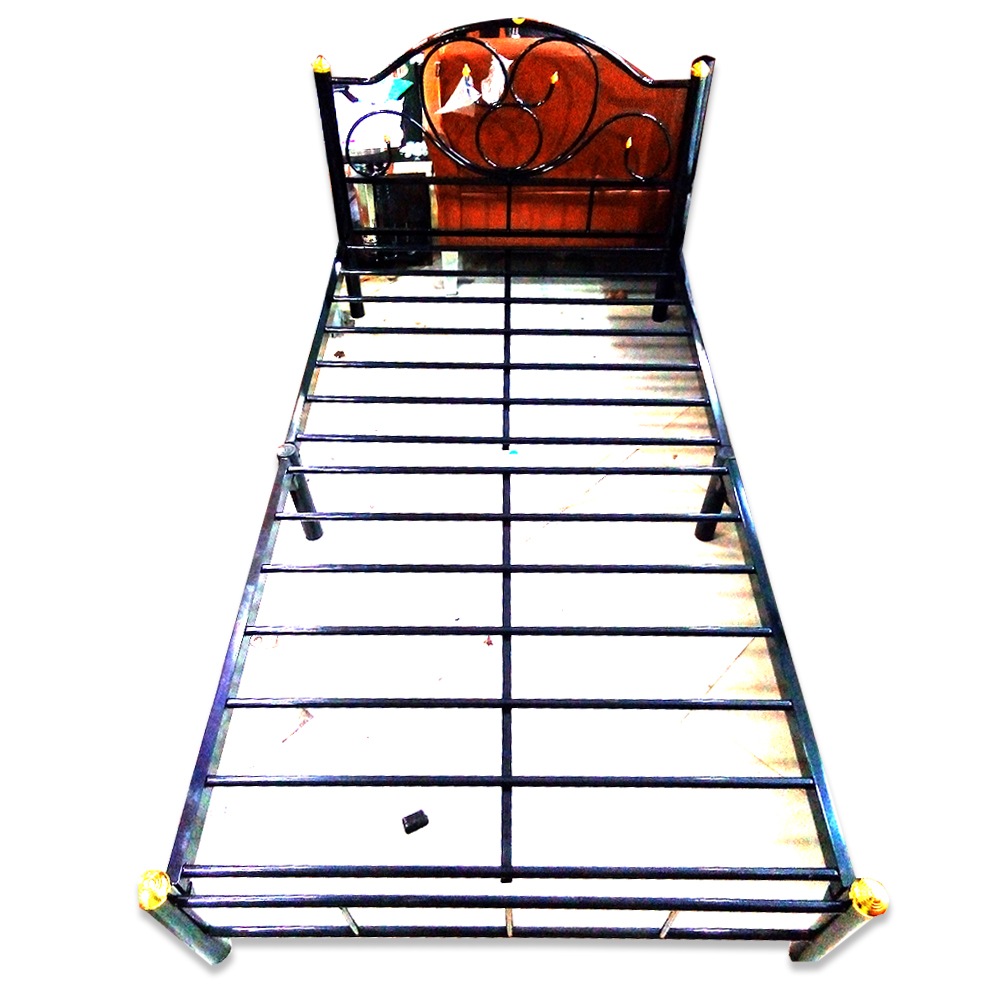 "Lin Lin Thar Iron Alone Bedstead 38DP Size-72""x43""x12"""
