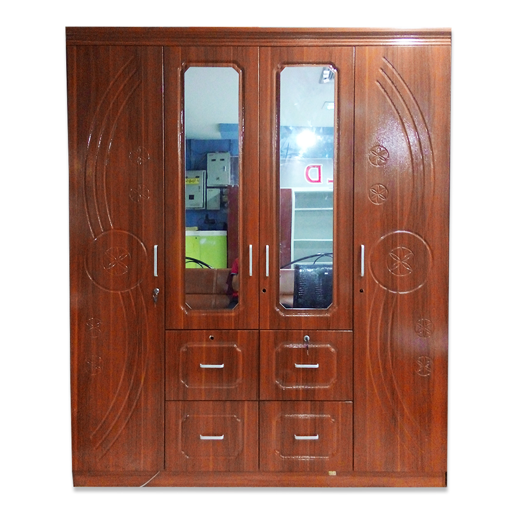 "New World 4 Door Cabinet (Kyate Thar) 9056P  Size-63""x18.5""x76.5"""