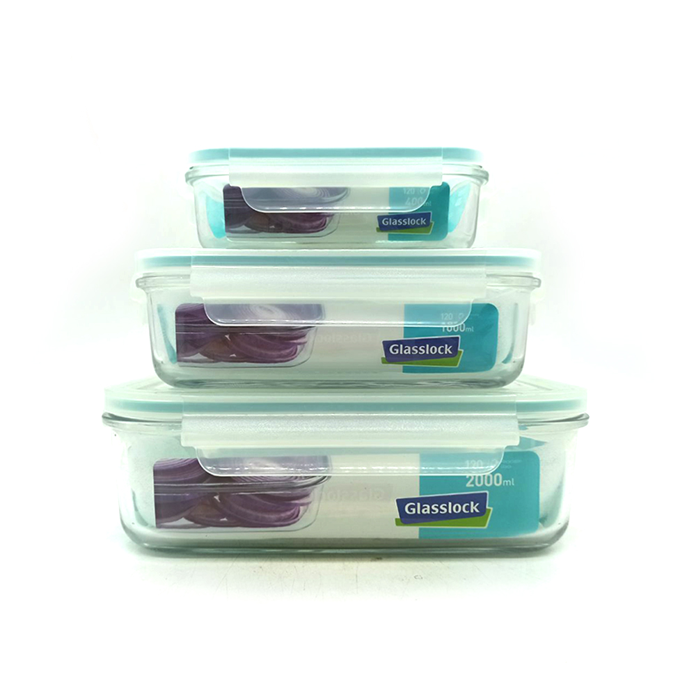Glasss Lock Food Container 3's GL54/135