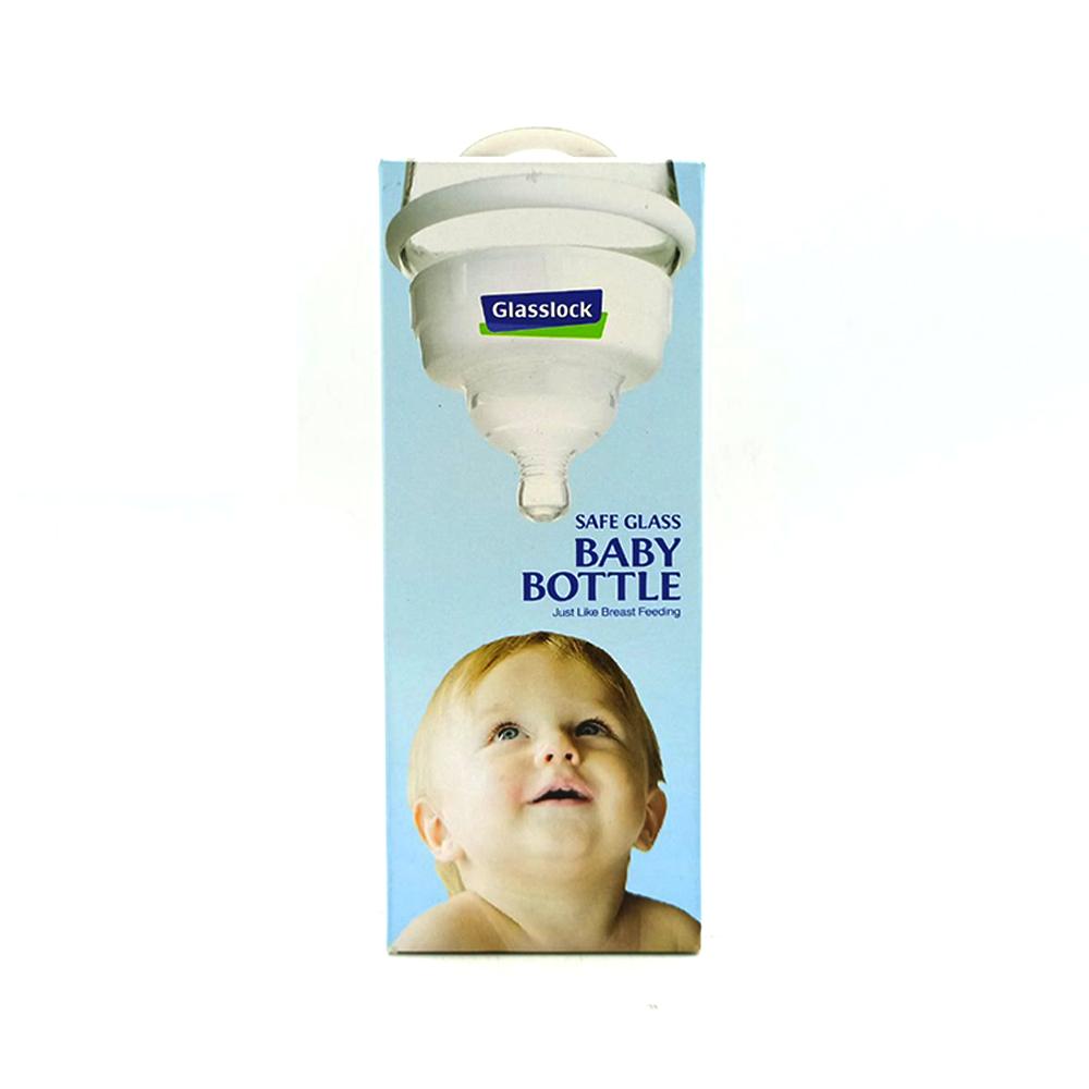Glasss Lock Baby Bottle IG543 260ml