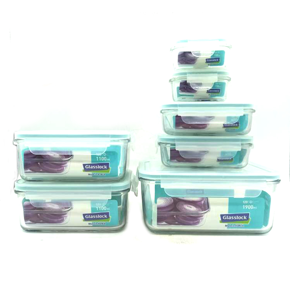 Glasss Lock Food Container 7's GL09