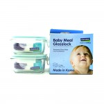 Glasss Lock Baby Food Contain 2 Tubs Gl426