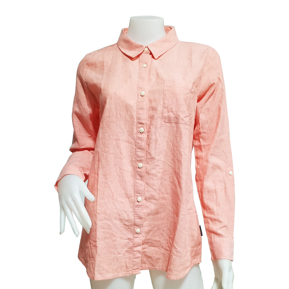 Giordano Lady Shirt Long Sleeve No-30l-P Size-StoXl (06-Lantana)