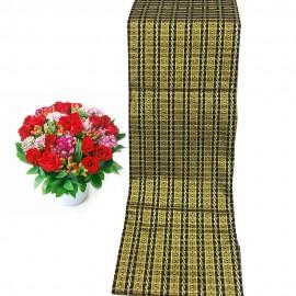 Golden Silk Men Traditional Longyi (Shwe Thanzin)