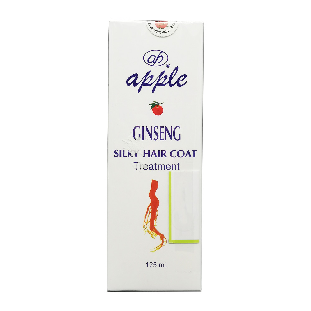 Apple Ginseng Silky Hair Coat 125ml