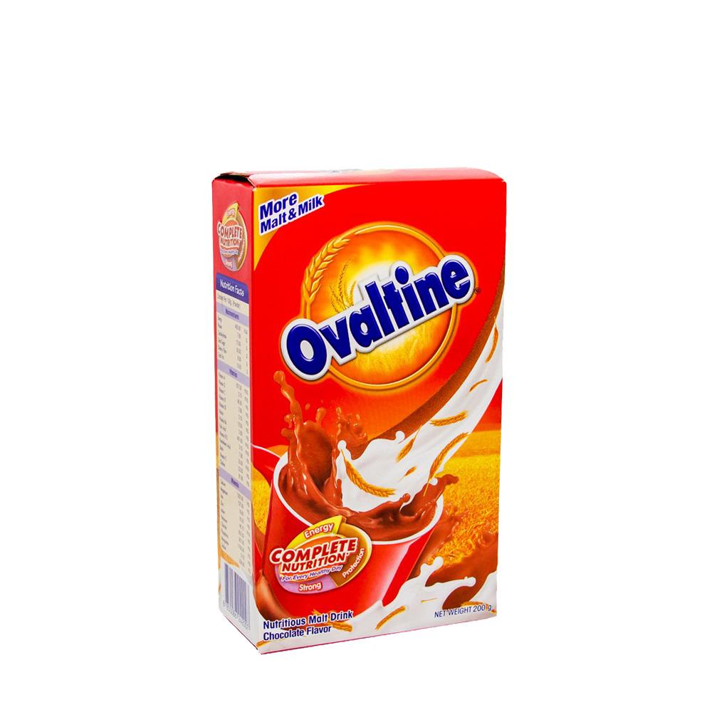 Ovaltine Nutritious Malt Drink Chocolate 200g (Box)