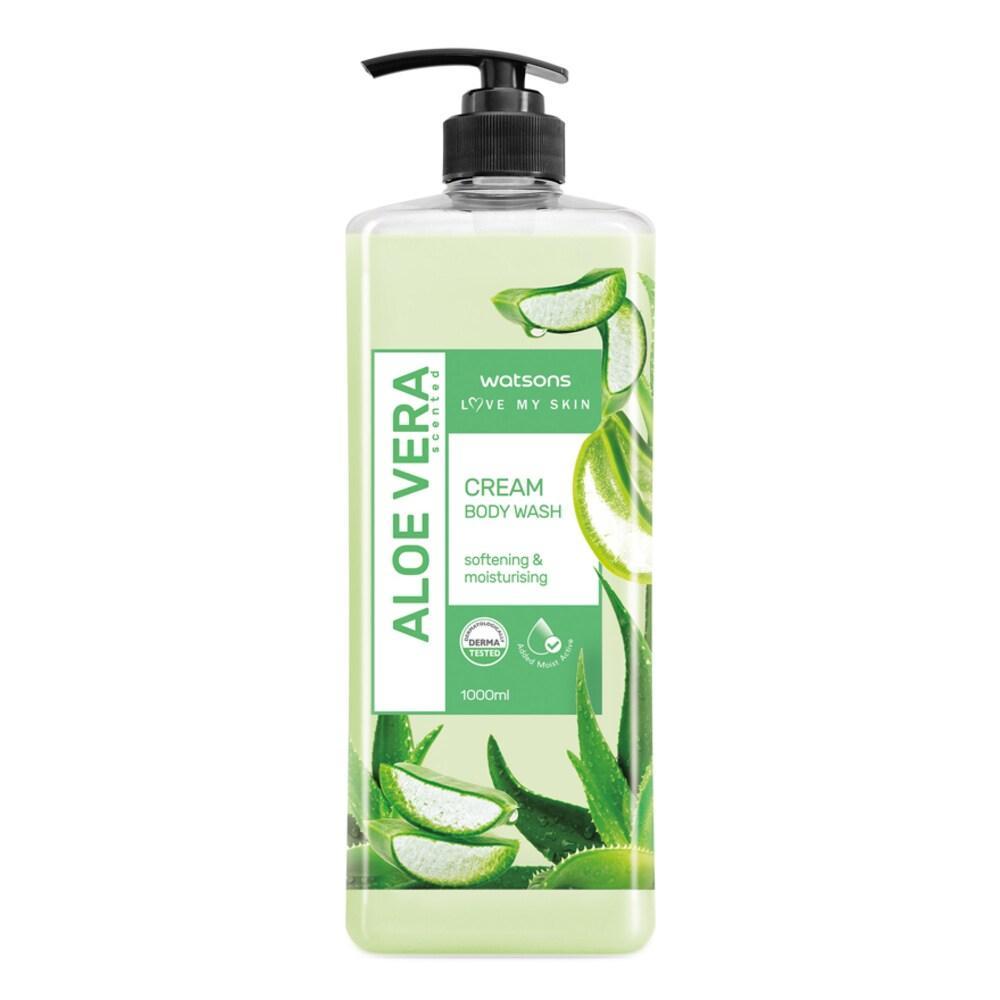Watsons Aloe Vera Body Wash 1000ml
