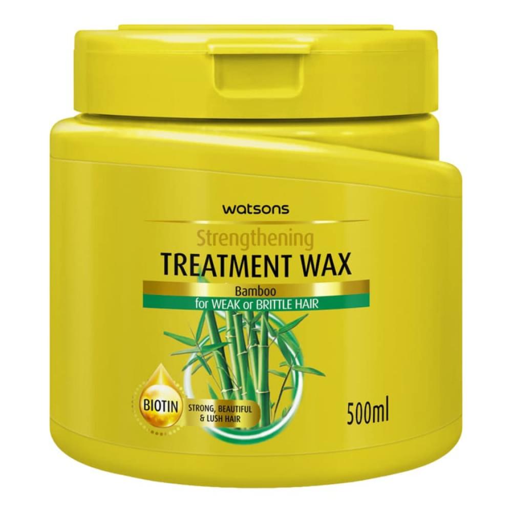 Watsons Bamboo Treatment Wax Strengthening 500ml
