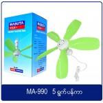 Masuta Energy Saving Fan MA-990 5 Blades