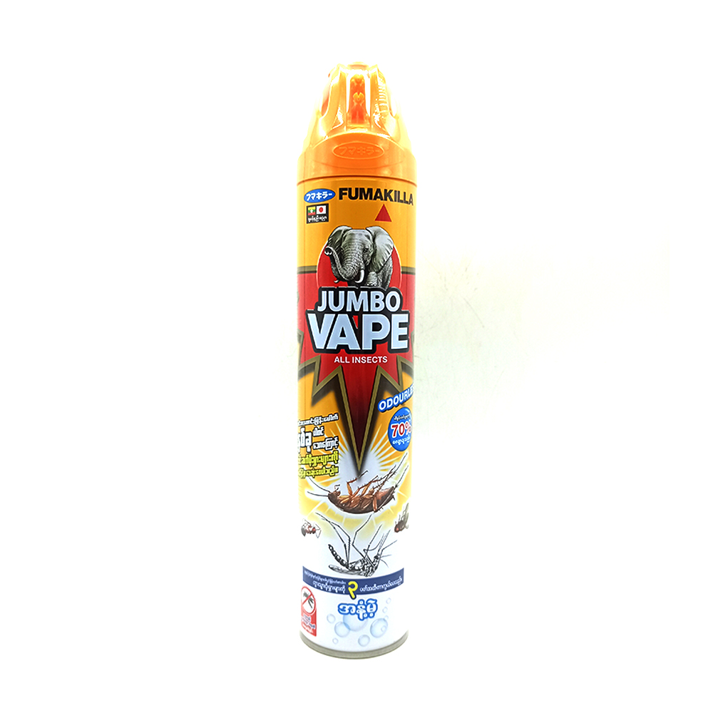 Jumbo Vape Fumakilla All Insects Killer Odourless 600ml