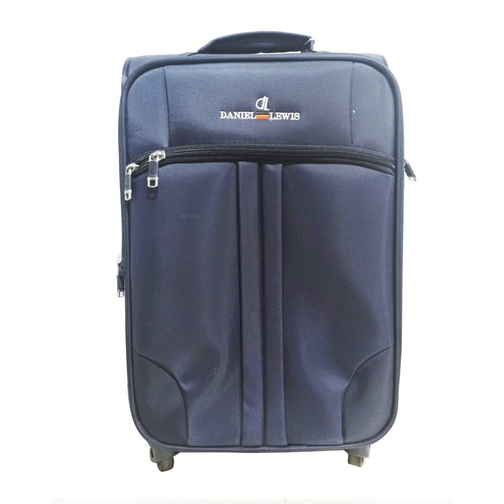 "Daniel Lewis Luggage A-026 Navy Blue (Size-20"")"