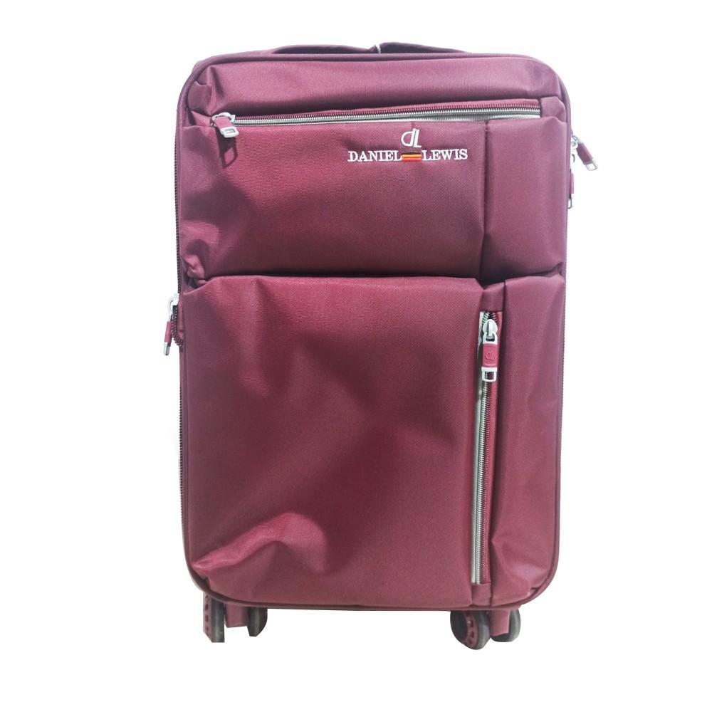 "Daniel Lewis Luggage A-176 Dark Red (Size-20"")"