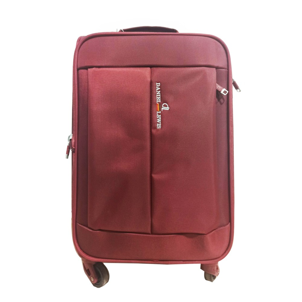 "Daniel Lewis Luggage A-183 Dark Red (Size-20"")"