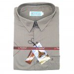 Mandalay Men Color Shirt S/S (Three Rifle Thar) (FOC-Buy 5pcs Get 1pcs Mya Kyar Phyu Men Longyi)
