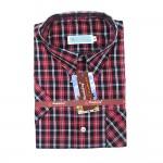Mandalay Men Color Shirt S/S (FOC-Buy 5pcs Get 1pcs Mya Kyar Phyu Men Longyi)