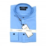 Mandalay Men Color Slim Fit Shirt L/S (Three Rifle Thar SF Lel Gatone) (FOC-Buy 5pcs Get 1pcs Mya Kyar Phyu Men Longyi)