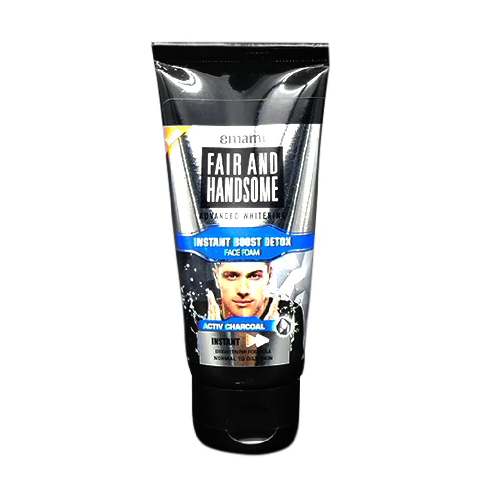 Emami Fair & Handsome Instant Boost Detox Face Foam 50g